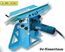 Sigma Kantenschleifer z. Fliesenbearbeitung Sockelfliesen 36A3 Anfasmaschine Set