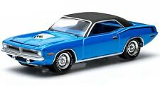 `70 Plymouth HEMI Cuda  Blue 1970*** Greenlight Muscle 1:64 OVP