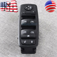 Black New Driver Master Power Window Switch 56046553AC For Chrysler Dodge Jeep