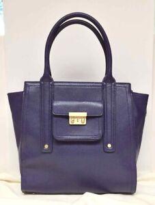 PHILLIP LIM 3.1 Pashli HANDBAG Purple Faux Leather NEW WITHOUT TAGS