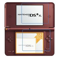 3 sets(6 PCS) Clear LCD Screen Protector Guard Film Cover for Nintendo DSI XL