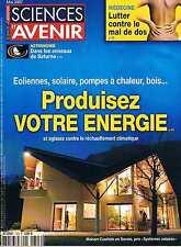 Sciences Et Avenir  N°723  Produisez votre energie Les anneaux de saturne Lutter