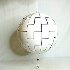 IKEA Modern Pendant Lamp White Silver Death Star PS 2014