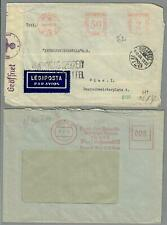 1923/45, 2 Freistempel-Belege: Wien, Budapest  (6886AG)