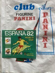 Panini Pochette Pack Bustina Tüte Sobre Football World Cup Espana 82