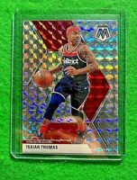 ISAIAH THOMAS MOSAIC PRIZM SILVER HYPER CARD WASHINGTON WIZARDS 2019-20 MOSAIC