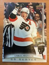 UPPER DECK 2011-2012 SERIES ONE CANVAS CHRIS PRONGER HOCKEY CARD C-60