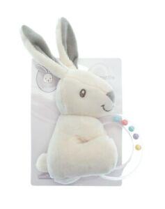 Little Bunny Rabbit Baby Teether Teething Rattle Soft Toy Newborn