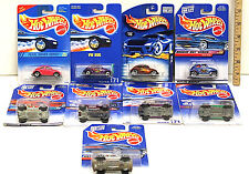 Hot Wheels Volkswagen Bug Baja 9 Car Lot VW Beetle 1991-2000 No Two Alike NOC