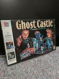 classic MB GAMES : GHOST CASTLE BOARDGAME (1985, COMPLETE) UK.