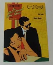 In The Mood For Love Movie POSTCARD Hong Kong Cinima Film Wong Kar-wai Chinese