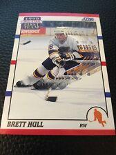 Brett Hull  Blues 1990-1991 Score All Star First Team  #317