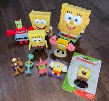 Sponge Bob SquarePants figures Laughing Sandy Squidworth Patrick New Used