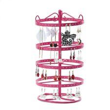 Metal Rotating Jewelry Display Earring Display Stand Cases Holder Racks Fixtures