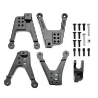 4Pcs Alloy Metal Front Rear Shock Tower For Axial SCX10II 90046 1/10 RC Crawler
