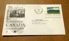 1967! Centennial Canada Confederation! 1867 - 1967! w/(1) 5 Cent Stamp! VG Cond!