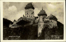 Castle Czech Republic Česká ~ 1920/30 Photo Josef švec Castle Castle Castle ungelaufen