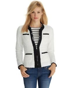 White House Black Market Quilted Puffy Puffer Lightweight Down Coat Jacket S