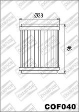 COF040 Filtro De Aceite CHAMPION YamahaYZ250 FX-F,G,H25020152016 2017