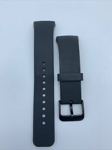 Genuine Samsung Gear S2 Watch Band Strap Silicone - Large Gray - OEM Authentic