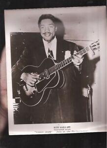 Vintage 1940's Slim Gaillard publicity photo
