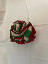 "PET Cent Christmas Holiday Puffy Puff rag Carwash ball small 3.5"" Dog Toy 1 pack"