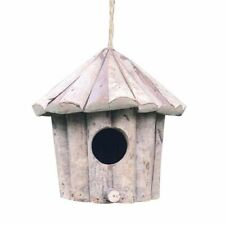 Handmade Wooden Round Bird House Environmental Protection Crafts Antiseptic Nest