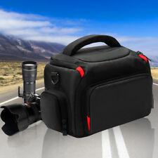 Waterproof Digital Camera Shoulder Bag Case For Nikon Canon DSLR SLR +Rain Cover