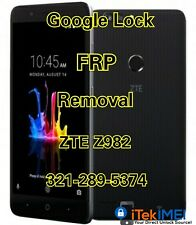 ZTE Blade Z Max Z982 Google Account Removal Bypass/Unlock, Reset FRP ☆Remotely☆