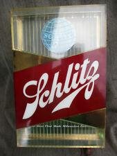 Vintage 1959 Schlitz Beer Lighted Bar Sign by Hammer Brothers Works