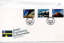 GB - FDC - TOWN CANCEL -087- UNADDRESSED -1983- British Engineering - Pmk Stoke