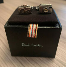 Paul Smith Camera/ Suitcase Cufflinks with SIGNATURE SWINGS