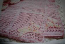 """Quick and Easy Crochet /""""Garden Patch/"""" Blanket//Afghan Pattern 40/""""  4ply 698"""