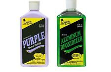 California Custom - Purple Metal Polish 355ml + Aluminum Deoxidizer 355ml