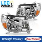 For 2005 2006 2007 2008 2009 2010 2011 Toyota Tacoma Chrome Headlights Headlamps