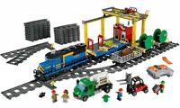 Brand New Hot Custom City Cargo Train Compitible Lego 60052 + Instruction Book
