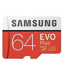 Carte Memoire Micro Sd 64go Samsung Officielle Neuve Sous Blister