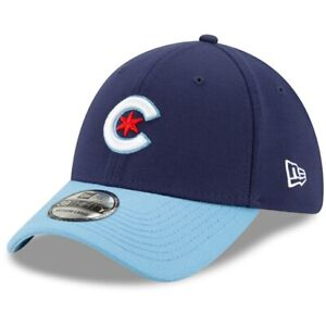 Chicago Cubs MLB City Connect Cap Hat 39THIRTY Fitted Wrigleyville Flex Men's C*