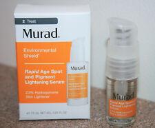 MURAD Rapid Age Spot & Pigment Lightening Face Serum 0.25 oz .25 /7.5mL exp 4/22
