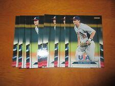Lot (10) SAM TRAVIS Card #21 Red Sox 2013 Panini USA Baseball Box Set