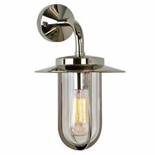 Astro 0484 E27 Montparnasse Wall Light excluding Bulb, Polished Nickel