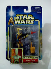 STAR WARS Attack of The Clones Battle Droid Arena Battle Hasbro 2002 MOC