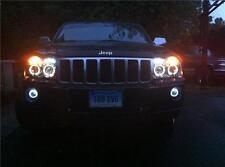 Halo Fog Lamp Angel Eye Driving Lights for 2006-2010 Jeep Grand Cherokee