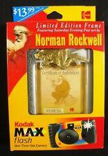 Norman Rockwell Santa Frame and Kodak Max Flash Camera - New in Box !