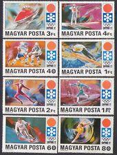 Hungary 1971 Olympics/Sports/Skiing/Shooting/Ice Hockey/Skating 8v set (n35122)