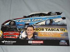 2012 BOB TASCA III MOTORCRAFT / QUICK LANE FUNNY CAR NHRA POSTCARD