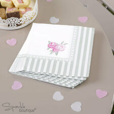 FRILLS & SPILLS PAPER NAPKINS-Shabby Chic Afternoon Tea Party-FULL RANGE IN SHOP