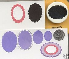 Large Scalloped Oval 29mm Paper Punch Punch Bunch Quilling-Scrapbook-Cardmaking
