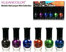 Kleancolor Nail Polish Set -Metallic Nail Lacquer Mini Collection NPC601