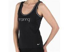 Nike XS UK 6-8 Black & White Gym T Shirt Tank Vest Top X Small Free UK Shipping